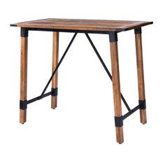 Butler Masterson Wood & Metal Pub Table