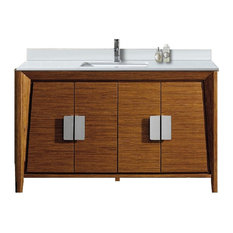 Imperial Vanity With Single Sink, Wheat, 60""