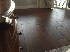 We Just Put Wood Look Tile Throughout The Main Part Of Our Home Love Way It Looks And Ease Care
