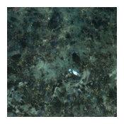 Various Sized Green Eyes Countertop Granite Slab, 3 cm.