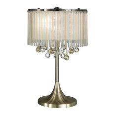 Ambience 3-Light Table Lamp, Bronze