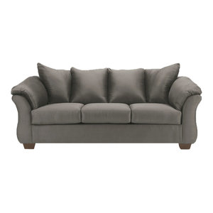 Cool Gilmer Sofa Gunmetal 6560338 Transitional Sofas By Pdpeps Interior Chair Design Pdpepsorg