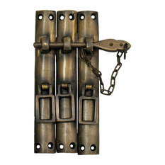 Three-Piece Lock With Chain, Large