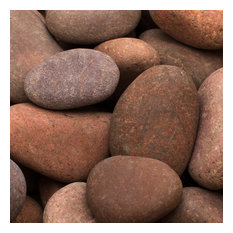 "Rosa Beach Pebbles, Pink, 1"" to 2"", 30 Lb."