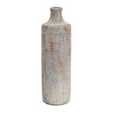 "Bottle 17""H Ceramic, Set of 2"