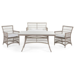 Tropical Outdoor Dining Sets by Velago Furniture Outlet