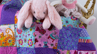 Cool for Purple Cats Quilt