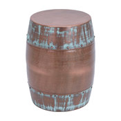 Myles Metal Accent Table