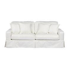 Americana Slipcovered Sofa | Performance White