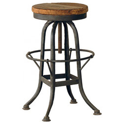 Nice Industrial Bar Stools And Counter Stools by Kathy Kuo Home