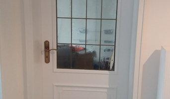 Spritzlackierung Türen