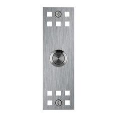 Aria Sebastian LLC Dba Waterwood   Craftsman Stainless Steel Doorbell    Doorbells And Chimes