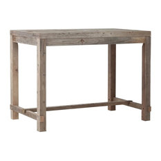 Reclaimed Wood Classic Bar Table, Large