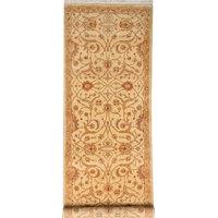"ALRUG Handmade Pakistani Sultanabad Rug, Beige, 2'7"" x 8'"