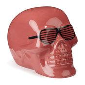 Skull color Tirelire en céramique en forme de crâne CORAIL