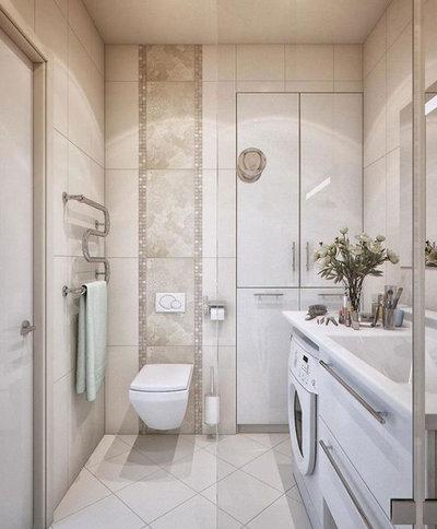 Ванная комната by Ателье сантехники