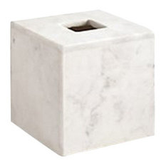 Pietra Marble Tissue Holder