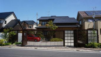 A邸 車庫ゲート