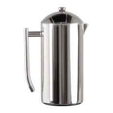 Frieling Polished 18/10 Stainless Steel French Press Coffee Maker, 44-Ounce