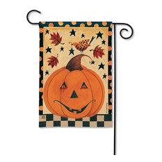 Country Pumpkin BreezeArt Garden Flag