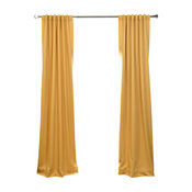 Marigold Blackout Curtain Single Panel, Gold, 50x84