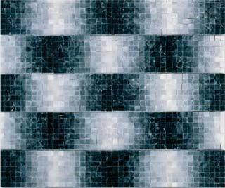 "Gradient 'Tahiti"" floor mosaic - Mosaic Tile"