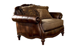 Claremore Chair and a Half, Antique