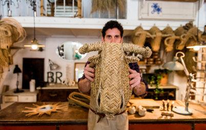 Houzz TV: Javier S. Medina nos enseña sus 'trofeos ecológicos'
