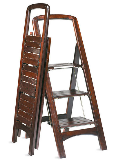 Traditional Ladders And Step Stools Wooden Stepladder