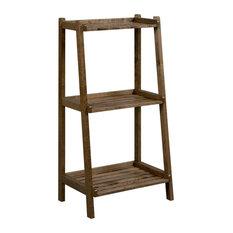 Dunnsville 3-Tier Ladder Shelf, Antique Chestnut