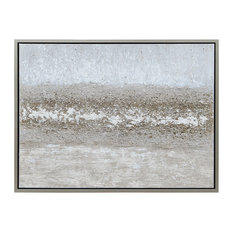 Sandpath Abstract Textured Metallic Hand Painted Wall Art by Martin Edwards