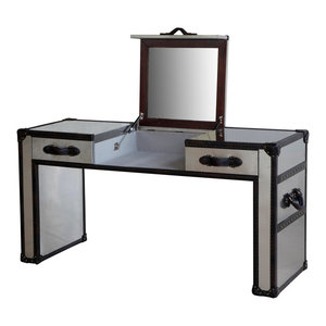 Great Reviews Lazzaro Leather Dietrich Dressing Table By Lazzaro Leather  Inc ...