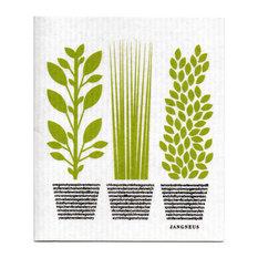 Swedish Dishcloth, Herbs