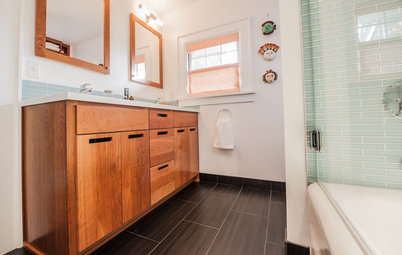 Room of the Day: Shared Bathroom for a Busy Family of 4