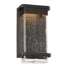 "Modern Forms Vitrine LED Wall Light, Bronze, 12"""