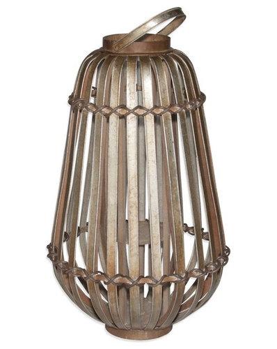 "Tall Avery Lantern 15.25""x15.25""x25"" - Furniture"