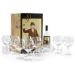 Numerology Wine Glasses, 12-Piece Set - The Stunning Set of Twelve Numerology Wine Glasses is designed keeping urban lifestyle in mind. Crafted from sturdy and durable glass, these glasses feature a whimsical design that  blends with any decor. The numbered glasses are often a great way to identify ones glass while entertaining. This wonderful set can spruce up your dining table decor.
