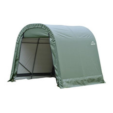10'x16'x8' Round Style Shelter, Green