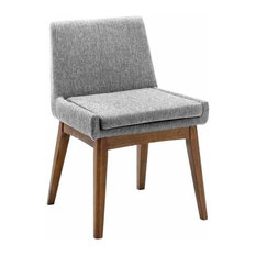 Chanel Dining Chair, Cocoa and Pebble, Set of 2