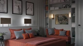 Rendu 3d. Appartement particulier (Paris)