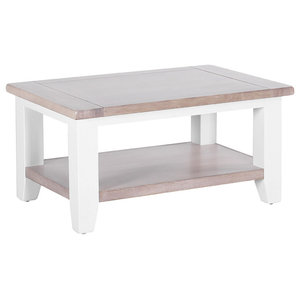 Rectangular Coffee Table, Pure White