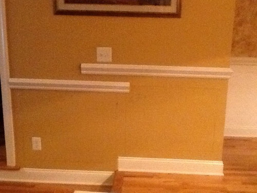 Molding Question Proper Height Of Chair Rail