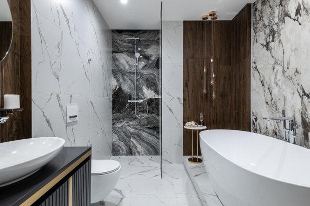 Ванная комната by Студия дизайна интерьера ArtGart