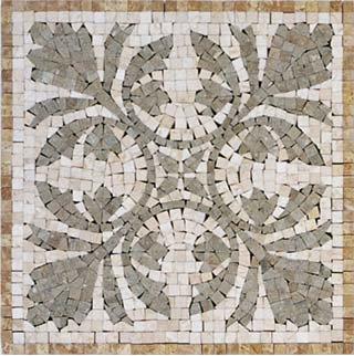 Ivy Mosaic Insert - Tile
