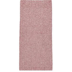 Ella Pink Vinyl Floor Cloth, 70x200 cm