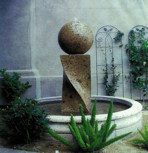 http://www.amandonaturalstone.com - Natural Stone Hand Crafted Fountains - Water Features - Outdoor Fountains And Ponds