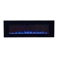 """Northwest Led Fire and Ice Electric Fireplace With Remote, 36"""", 54"""