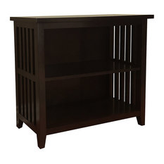 Brookdale 2-Shelf Bookcase