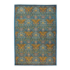 """Solo Rugs - Eclectic Hand Knotted Area Rug, 6'3""""x9'3"""" - Area Rugs"""