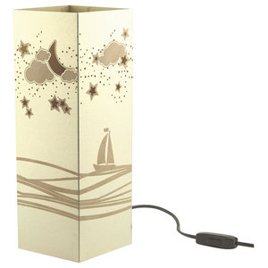 Boat Paper Table Lamp